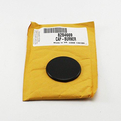 Genuine OEM 8284669 74007748 Jenn Air Maytag Gas Cap Black Matte 6000 BTU (Jenn Air Burner Cap compare prices)