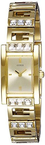 Guess W10269L1 - Orologio da polso donna, acciaio inox, colore: oro