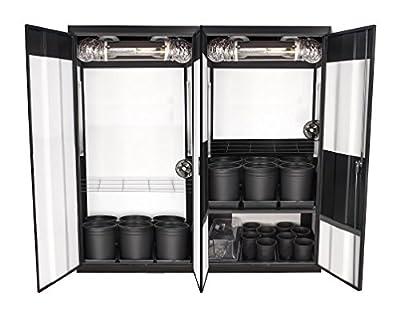 SjuperCloset Trinity 3.0 HPS Soil Grow Cabinet