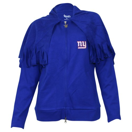 Women's Touch by Alyssa Milano New York Giants Jacket w/ Built in Shawl - XL at Amazon.com