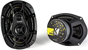 "Kicker DS693 6""x9"" 3-Way Speakers (Pair)"