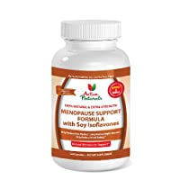#1 Menopause Support Formula - Advanced Menopause Vitamins Supplement - Menopause Health Ingredient Soy Isoflavones to Help with Women's Menopause Symptoms & Menopause Signs like Mood Swings, Night Sweats and Hot Flashes - 40 Days Supply