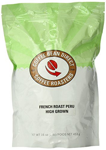 French Roast Peru, Whole Bean Coffee, 16-Ounce Bags (Pack of 3) (Coffee Bean Direct Peru compare prices)
