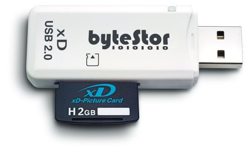 Bytestor XD (xD Card) Single Slot Reader