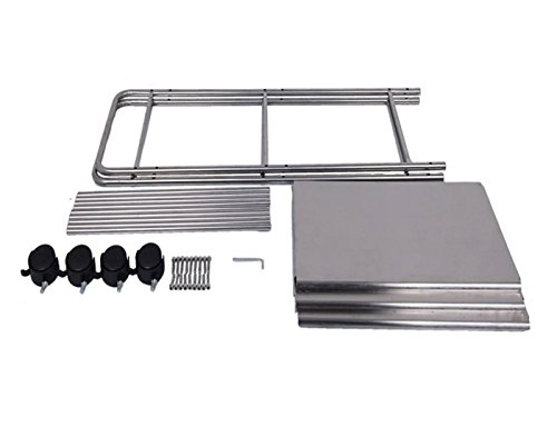 EPG-Life 3 Tier Stainless Steel Microwave Cart Stand