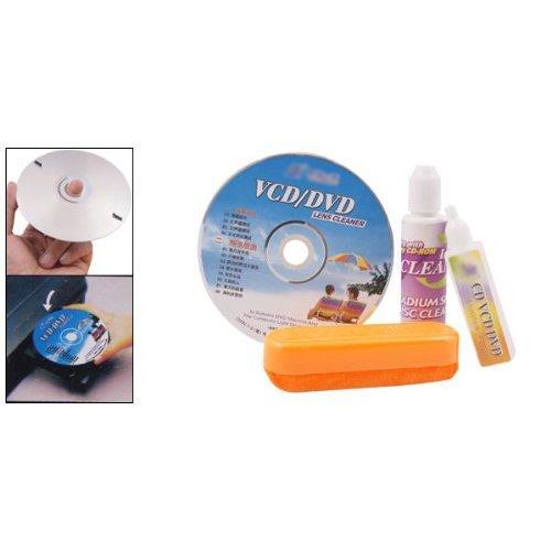 TOOGOO(R)4 en 1 CD DVD Kit Rom Lecteur entretien nettoyage de lentille