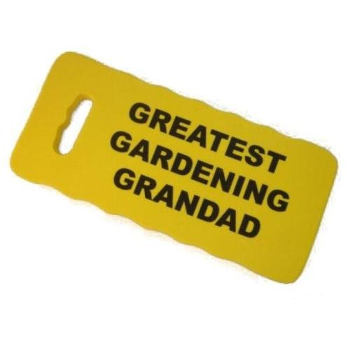 GREATEST GARDENING GRANDAD - Kneeling Pad For Gardeners - Yellow