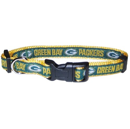 Dog Supplies Green Bay Packers Collar Medium