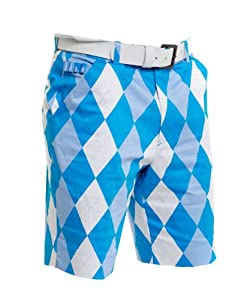 Royal & Awesome Mens Loud Shorts Golf by Royal & Awesome