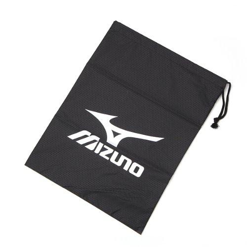 MIZUNO(ミズノ) シューズバッグ(L) 8ZA45309 ブラック×シルバー L