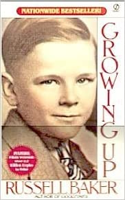 russell baker growing up essay