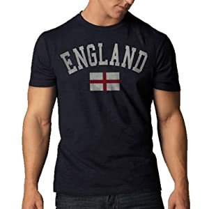 Buy England Vintage Scrum Country T-Shirt, Navy Blue by '47 Brand