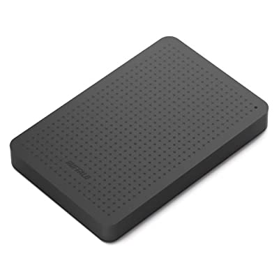 Buffalo MiniStation 1TB Portable Hard Drive (Black)