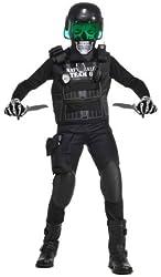Deluxe Child Black Team 6 Costume