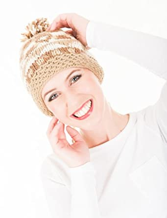 Unisex-Warm-Hand-Knitted-Chunky-Bobble-Hat-With-Fleece-Lining