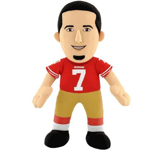 "Colin Kaepernick San Francisco 49ers 10"" Player Plush Toy Bleacher Creatures at Amazon.com"