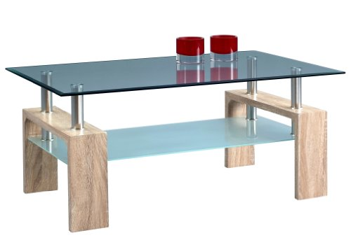 HomeTrends4You 274642 Couchtisch, 100 x 45 x 60 cm, Dekor Sonoma Eiche