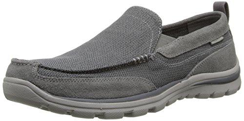 SkechersSuperior Milford - Mocassini uomo , grigio (Gray - Grau (CCGY)), 41 EU