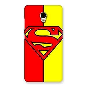 Ajay Enterprises Dayer Red Yellow Super Back Case Cover for Lenovo Vibe P1