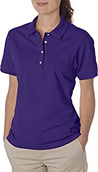 Jerzees Ladies' Jersey Polo with SpotShield