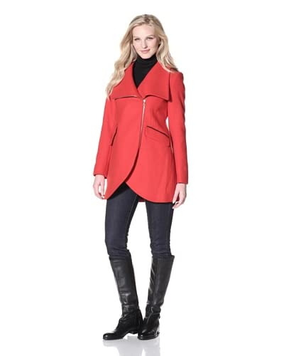 French Connection Women's Tulip Cutaway Coat