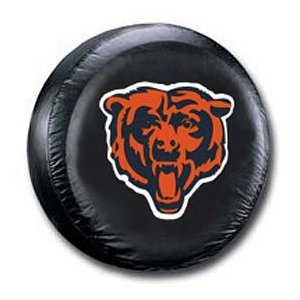 Chicago Bears Black Tire Cover