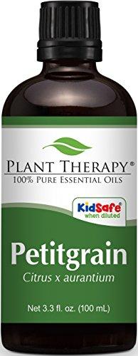 Petitgrain Essential Oil. 100 ml (3.3 oz). 100% Pure, Undiluted, Therapeutic Grade.
