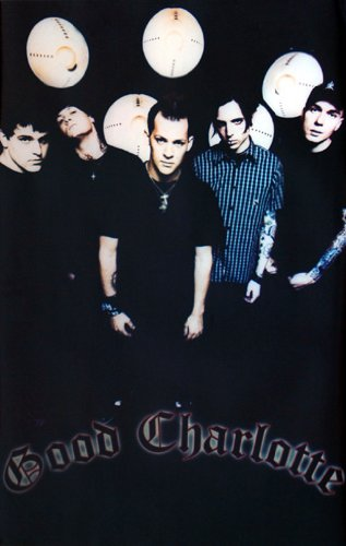 GOOD CHARLOTTE POSTER Amazing Group Shot RARE NEW 24X36 (Good Charlotte Poster compare prices)