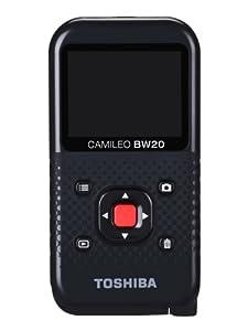 Toshiba PA5066E-1C0R - Videocámara Full HD para deportes, color negro y rojo [Importado de Francia]