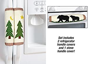 Kitchen Appliance Handle Covers - 3Pc