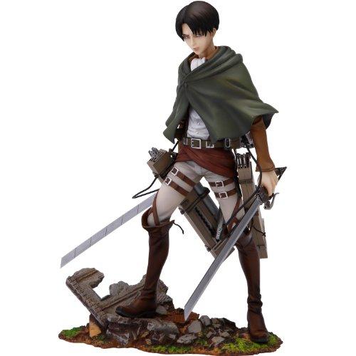 Sen-Ti-Nel Attack on Titan Brave Act Statue 1/8 Levi Rivaille 20 cm Action Figure