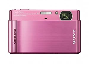 Sony Cyber-shot DSC-T90 12.1 MP Digital Camera with 4x Optical Zoom and Super Steady Shot Image Stabilization (Pink)