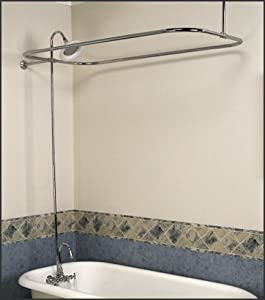 Satin Nickel Add-on Shower Kit