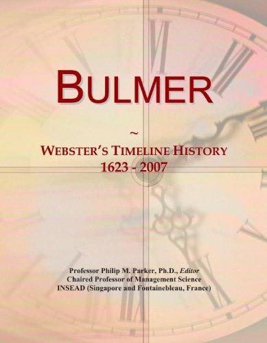 bulmer-websters-timeline-history-1623-2007