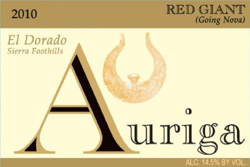 2010 Auriga Red Giant Zinfandel 750 Ml