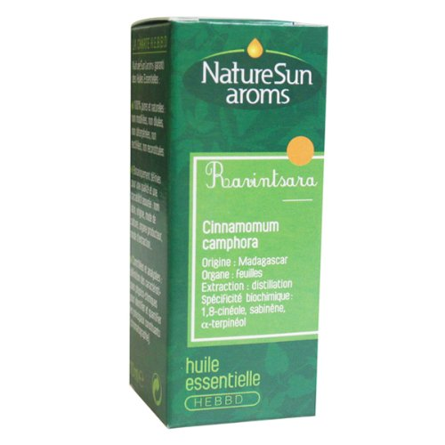 Nature Sun Aroms - Ravintsara Organic Essential Oil 10 ml