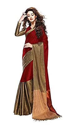 Trendz cotton Silk Saree(TZ_Vishwa_Maroon)