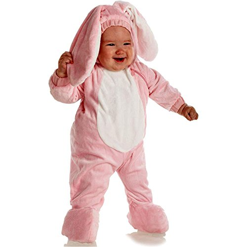 Pink Bunny Toddler Costume