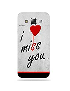 alDivo Premium Quality Printed Mobile Back Cover For Samsung Galaxy E5 / Samsung Galaxy E5 Back Case Cover (MKD316)