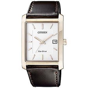 buy citizen eco drive analog white dial men s watch