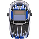 Lincoln Electric K3064-1 Variable Shade Auto-Darkening Welding Helmet, Shade 9-13,  Fierce Blue (Pack of 1)