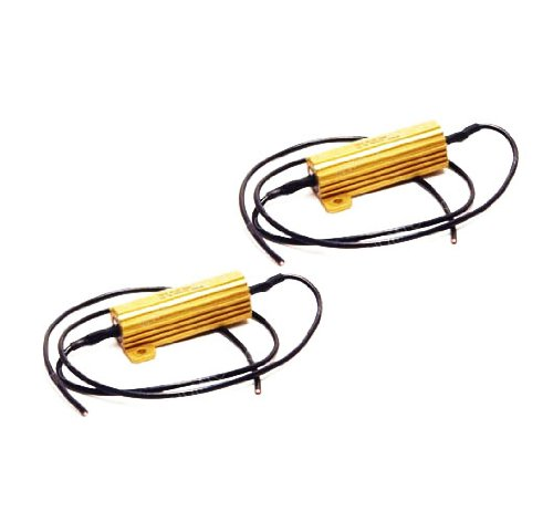 50W 6-Ohm Load Resistors For Led Turn Signal Light Bulbs Hyper Flash Fix