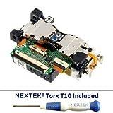 New - Sony PS3 Laser Lens (KES-410A/ KES-410ACA/ KEM-410A/ KEM-410ACA) + Nextek® Torx T10 Security Screwdriver