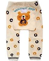 Baby - Toddler Unisex Trousers / Leggings - Doughnut Bear