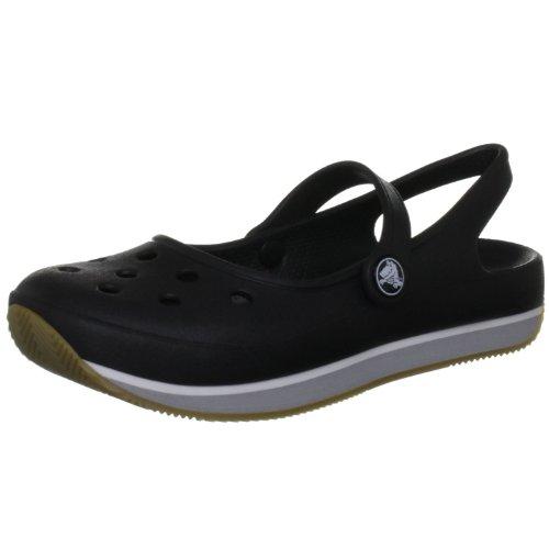 Crocs Retro Mary Jane, black/silver, 42/43