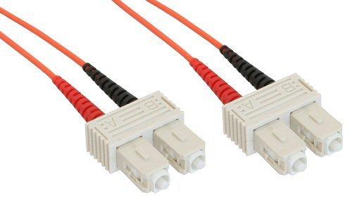 InLine LWL Duplex Kabel, SC/SC, 1m