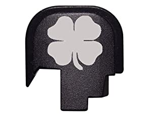 4 Leaf Clover Irish Rear Slide Cover Plate for Smith & Wesson S&W SHIELD 9mm .40