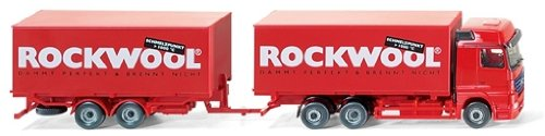 "059906 - Wiking - (MB Actros) - ""Rockwool"""