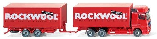 "059906 - Wiking - (MB Actros) - ""Rockwool"""
