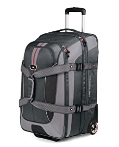 Buy High Sierra AT658 26 -Inch Expandable Wheeled Duffel with Backpack Straps by High Sierra